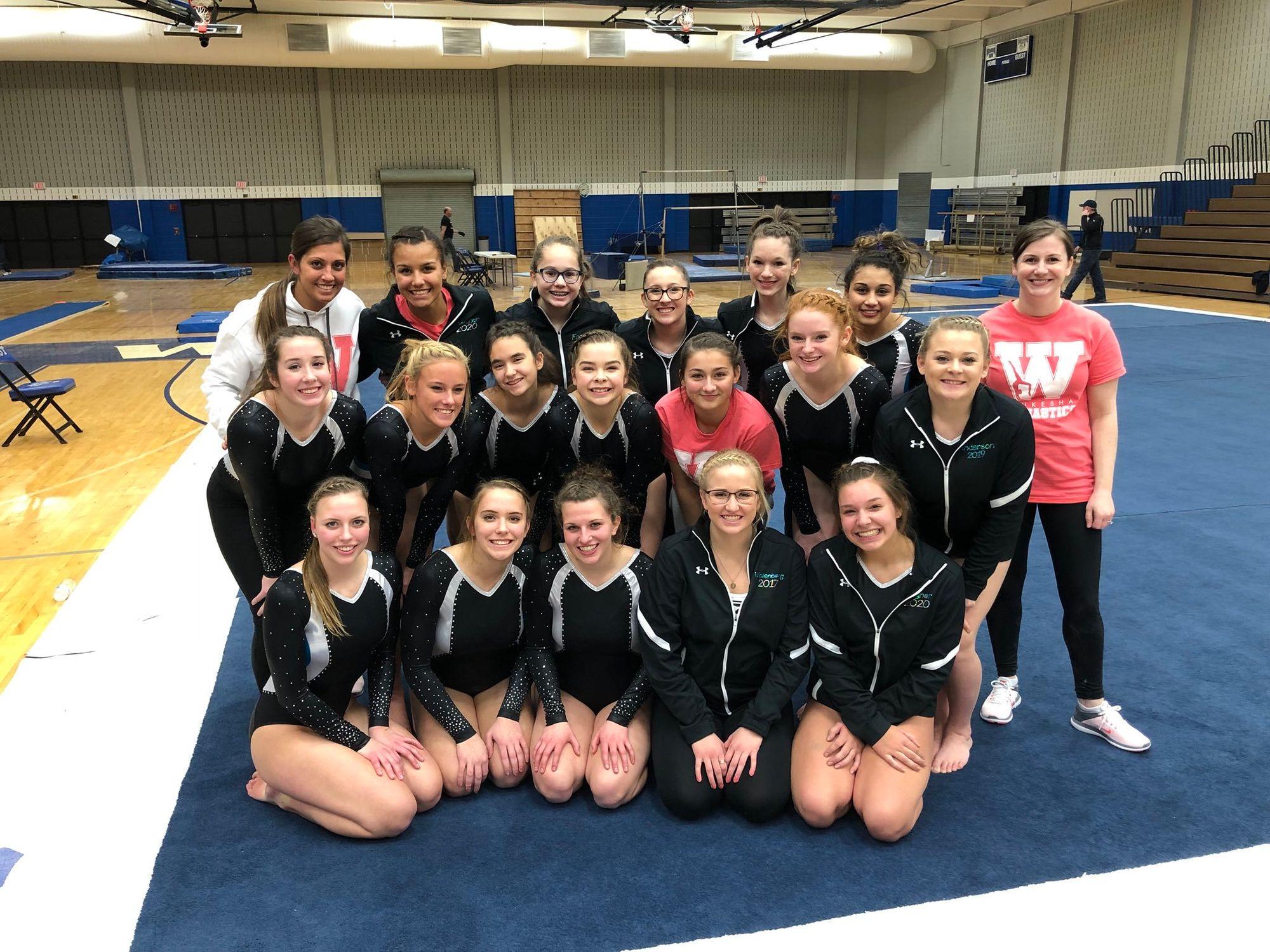 Waukesha Gymnastics Team Finishes Strong
