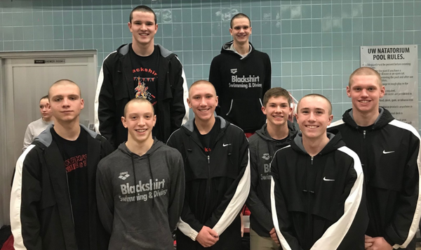 Boys Swim And Dive Brings Home 3rd Place State Finish